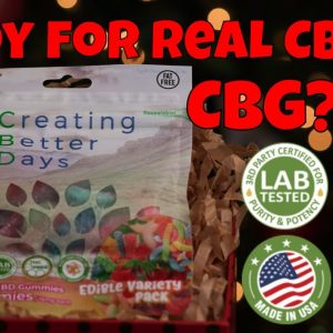 Ready For Real CBD? cbd edible benefits Creating Better Days Infused Edibles | CBD Headquarters
