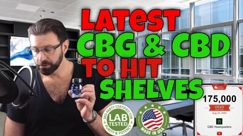 Latest CBD news and 4 New CBD Products | CBD Headquarters
