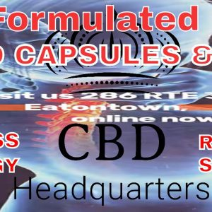 Snapshot of hot CBD products, lab tested CBD brands Sleep, Stress, Pain, Energy | CBD Headquarters
