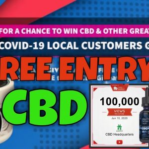 Subscribe Giveaway | Subscriber to enter to win | CBD Headquarters