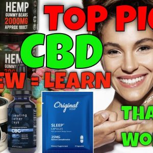 Top 5 CBD Pick | CBD Headquarters